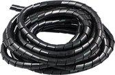 Kabelgoot spiraalslang - kabel geleider - 7,5 meter - diameter 8 mm - kabelslang