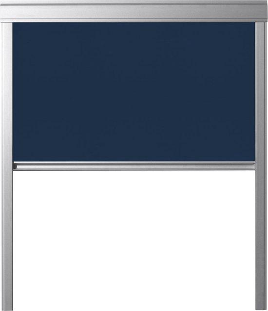 Dakraam Rolgordijn Verduisterend - Blauw - voor VELUX - GGL GGU S06, 606, 4