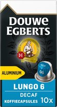 Douwe Egberts Lungo Decaf koffiecups - 10 x 10 cups