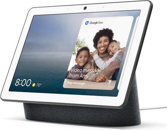Google Nest Hub Max | Smart Speaker met scherm |Charcoal | EU versie