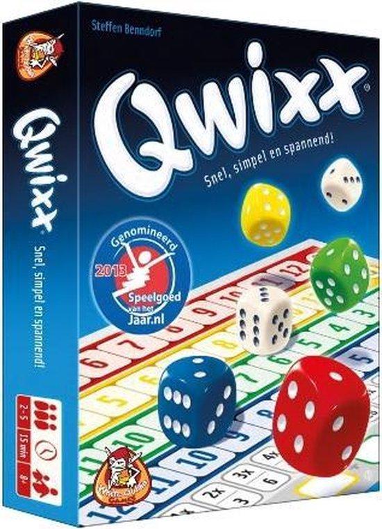 Afbeelding van Qwixx - Dobbelspel speelgoed