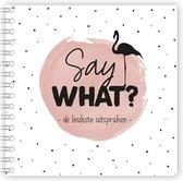 Say what - uitsprakenboekje roze