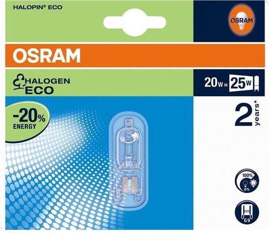OSRAM - HALOPIN SUPERSTAR G9 / 20W / 230V BLISTER - 4008321945136
