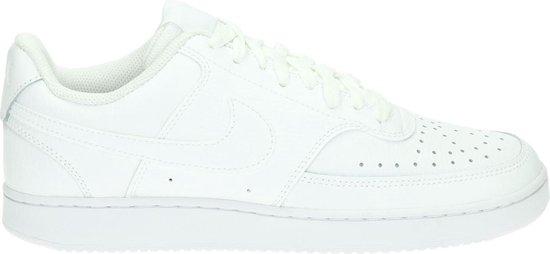 Nike Court Vision Low heren sneaker. - Wit - Maat 42