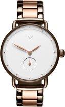 MVMT Bloom D-FR01-TIRGW - Horloge - Zilver/Rose - Staal - 36mm