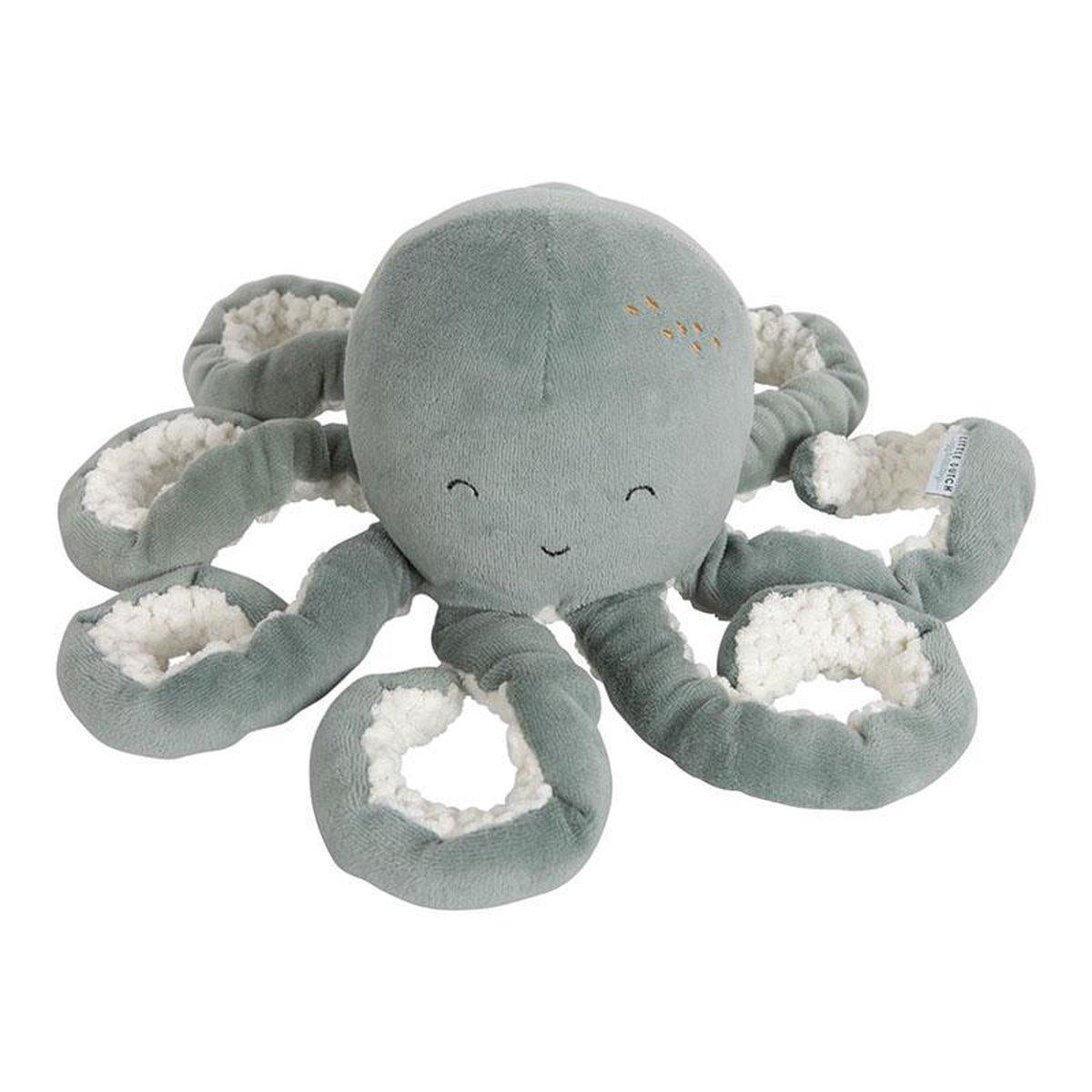 Little Dutch Knuffeldier Octopus - Ocean mint