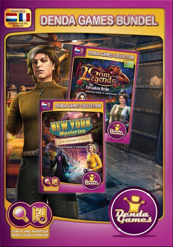 Denda Games Bundel - Grim Legends 1 & New York Mysteries 3 CE