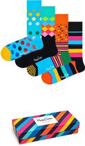 Happy Socks Classics Giftbox Multipack Unisex Sokken 41-46