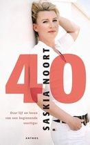 Boek cover 40 van Saskia Noort (Paperback)