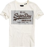 Superdry Dames VL REFLECTIVE BOX ENTRY TEE T-shirt M