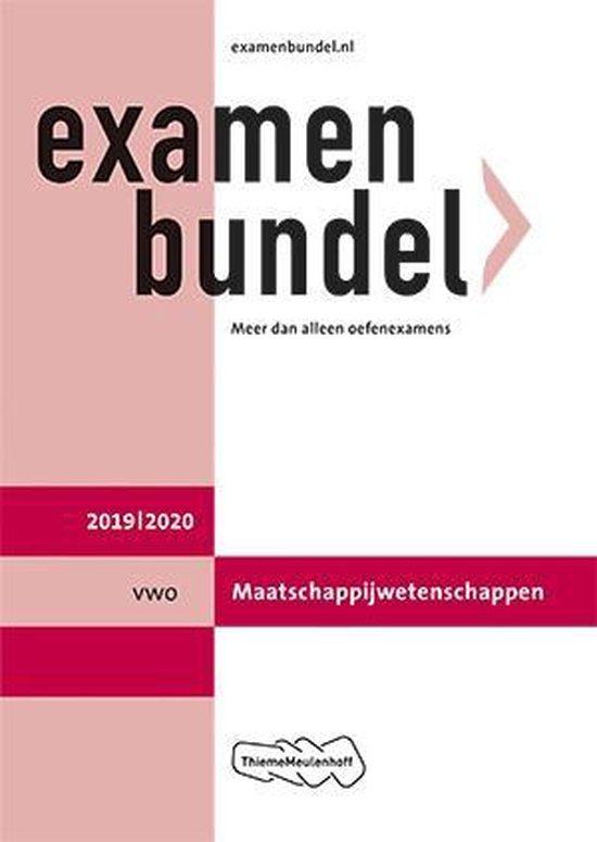 Examenbundel vwo Maatschappijwetenschappen 2019/2020 - none |
