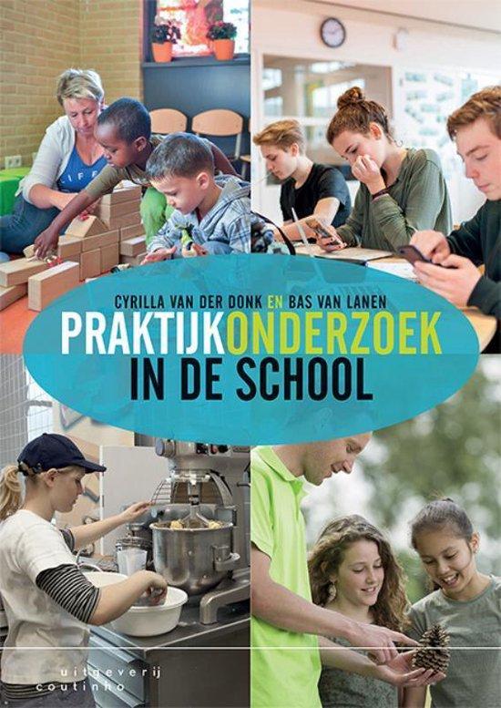 Boek cover Praktijkonderzoek in de school van Cyrilla van der Donk (Paperback)