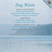 Violin Concerto/Triptych/Wind Quintet/String Quart