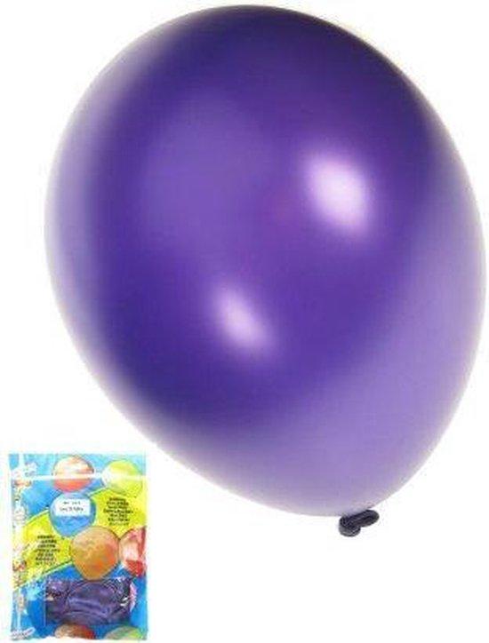 Kwaliteitsballon metallic paars