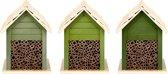 Bijenhotel Felgroen