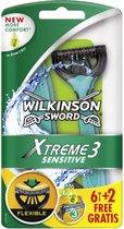 Wilkinson Xtreme3 sensitive - 8 wegwerpscheermesjes