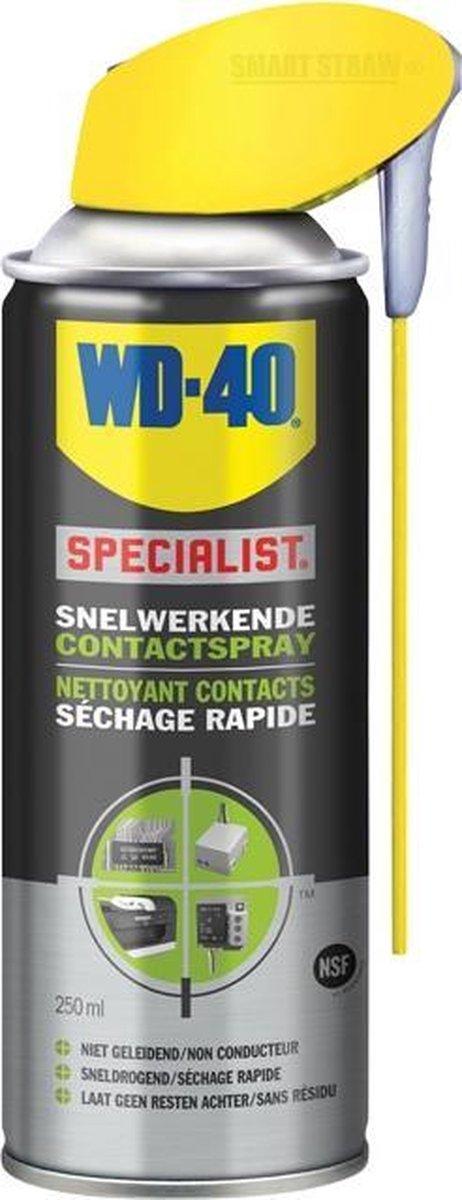 WD-40 Contactspray Poetsmiddel - 250 ml