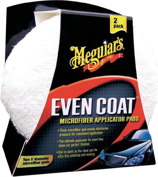 Meguiars X3080 Even Coat Applicator Pad 2 stuks