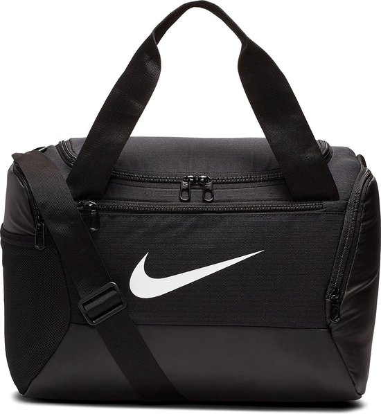 Nike  Brsla Xs Duff  9.0 Unisex Sporttas - Black/Black/(White)