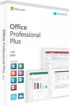 Microsoft Office 2016 Home & Business - Windows (code in doosje)