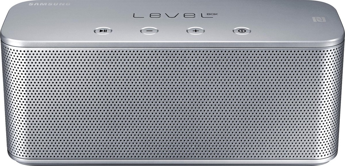 BT Speaker Box Mini Level silver