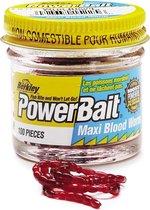 Berkley Naturel Bait 'Bloed'worm - Foreldeeg - Bloodworm - Red
