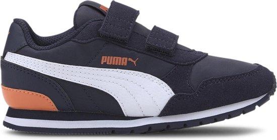 Puma Sneakers - Maat 33 - Unisex - navy/wit/oranje