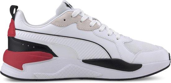 Puma Sneakers - Maat 42.5 - Unisex - wit/zwart/rood