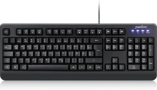 Perixx Periboard 517 B Afwasbaar toetsenbord (IP65) waterdicht toetsenbord   QWERTY/US - Zwart