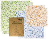Bamobo - Vershoud Doeken - Bijenwas - Multicolor - 6 Stuks