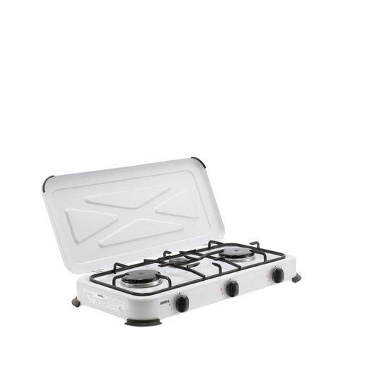 Gimeg Kooktoestel - 3-pits - Wit