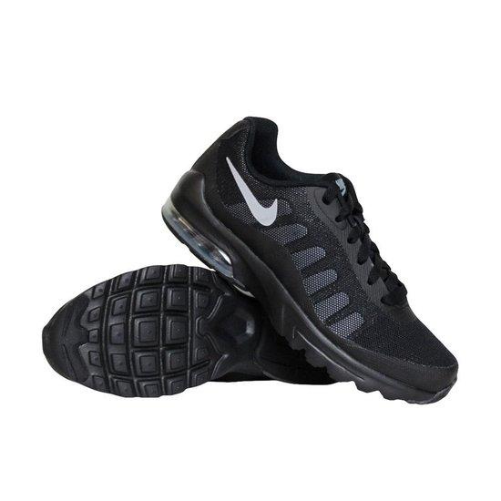 Nike Air Max Invigor (GS) sneakers jongens zwart/grijs