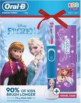 Oral B Frozen - Electrische Tandenborstel voor Kinderen - Inclusief Travel Case