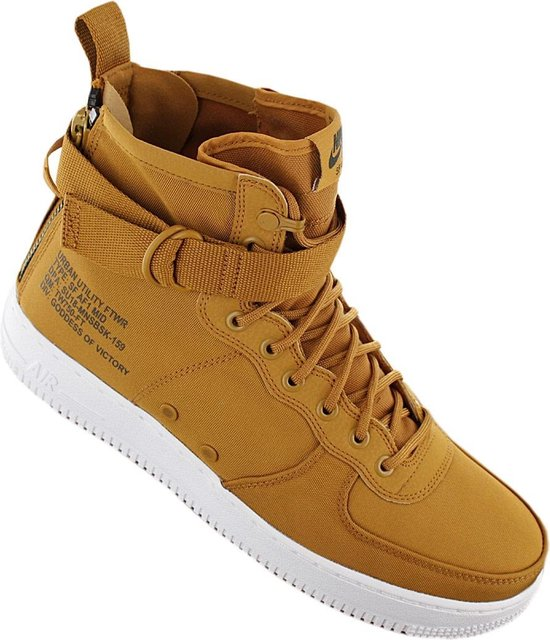 Nike Air Force 1 SF Mid 917753 700, Mannen, Bruin, Sneakers