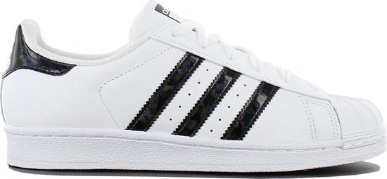 adidas - Dames Sneakers Superstar J - Wit - Maat 38