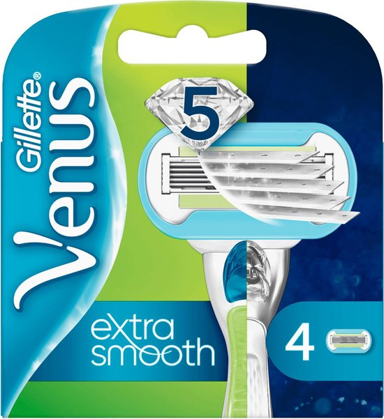 Gillette Venus extra smooth Scheermesjes - 4 stuks