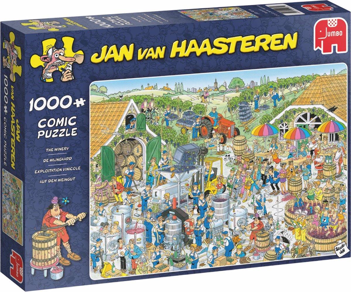 Jan van Haasteren De Wijnmakerij puzzel - 1000 stukjes