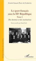 Le sport français sous la IIIe République