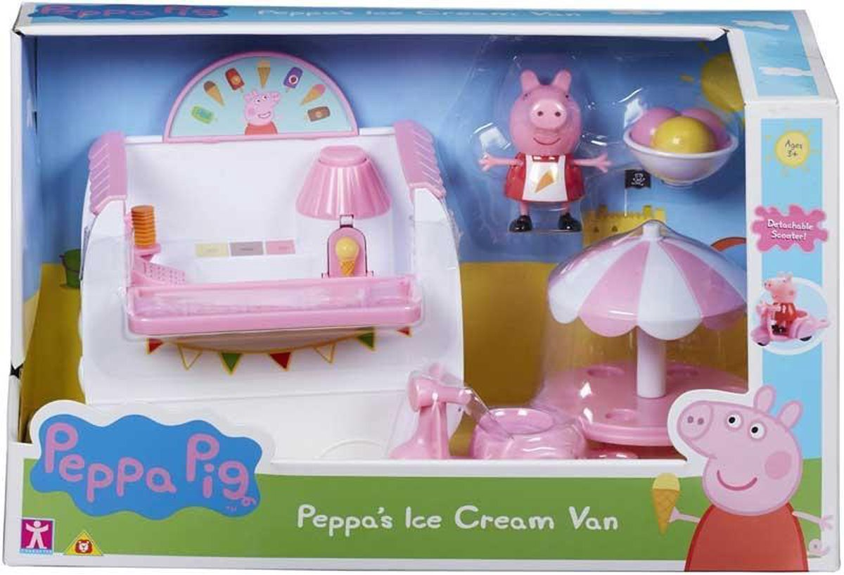 Bol Com Peppa Pig Ijskar Set Verkoop De Lekkerste Ijsjes Ijscowagen