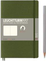 Leuchtturm1917 B6+ Paperback Notitieboek met zachte kaft blanco Army