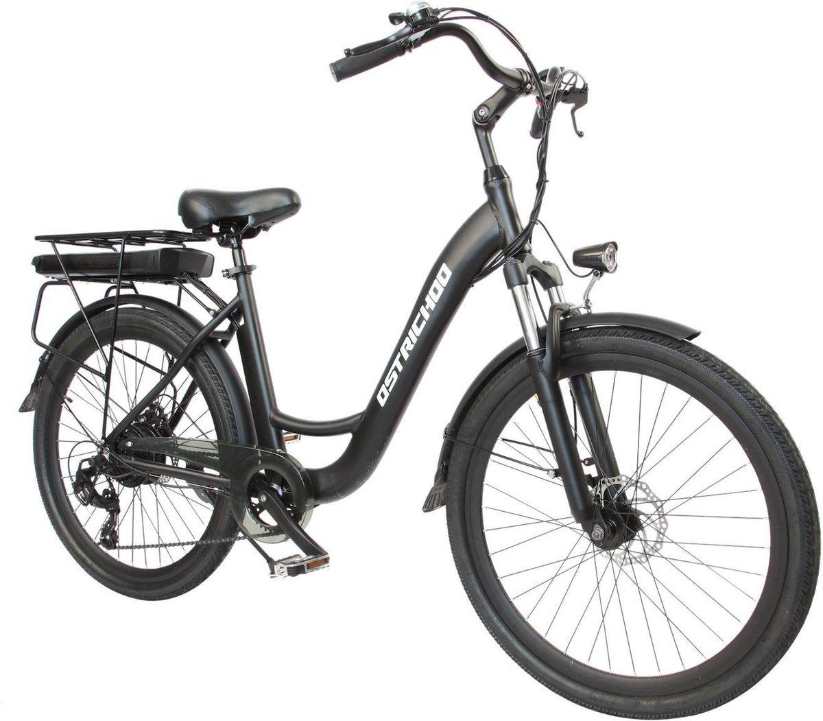 "Ostrichoo Julius elektrische fiets 26"" - NIEUWE accu-technologie!"