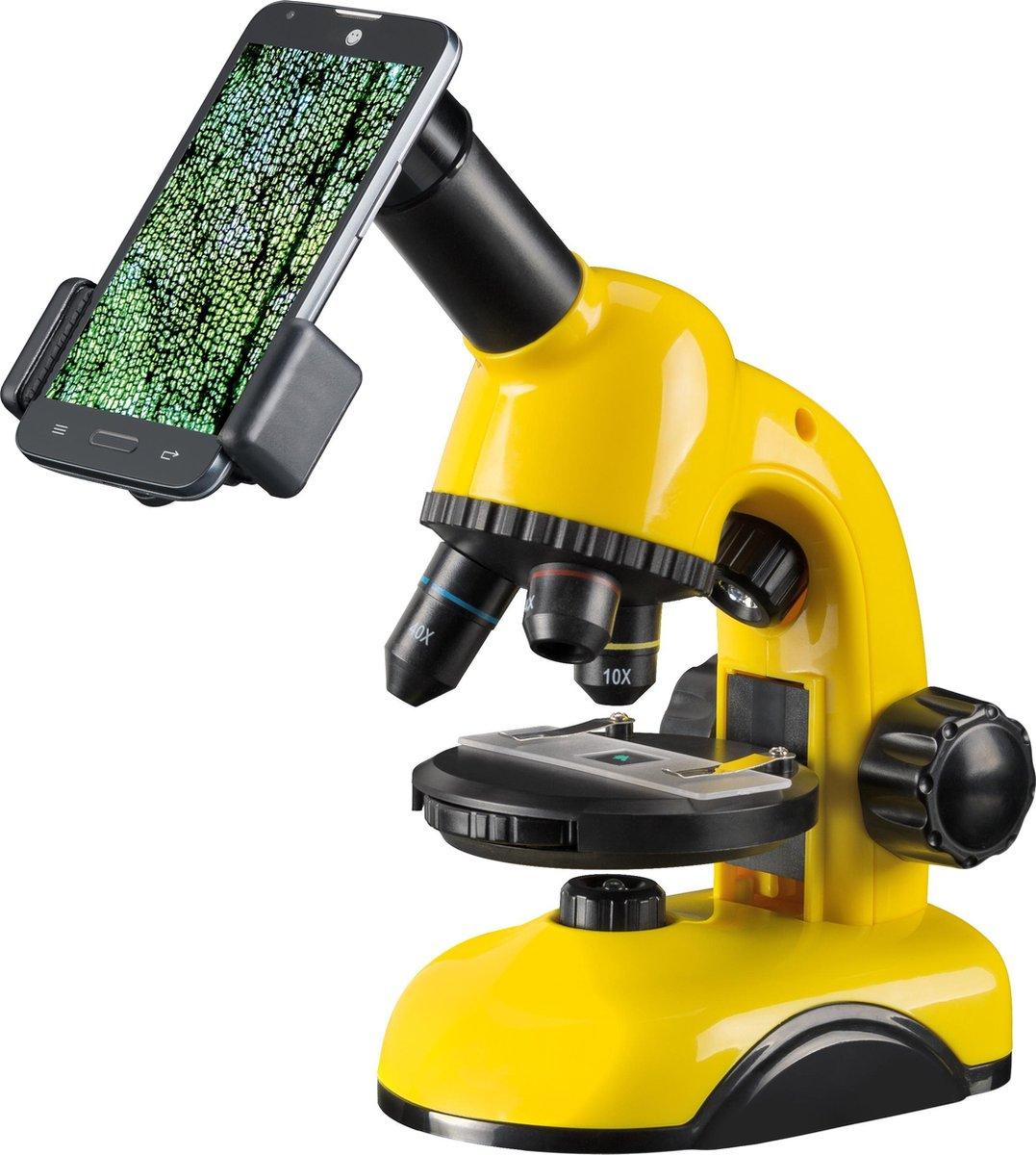 National Geographic Op-en Doorzichtmicroscoop 40x-800x - Voor Beginners