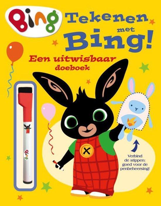 Boek cover BING - Tekenen met Bing van  (Onbekend)