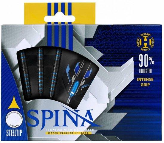 Thumbnail van een extra afbeelding van het spel SPINA STEELTIP 90% 25GR BLUE/BLACK