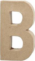 Letter, groot, B, h: 20,5 cm, b: 11,5 cm, 1stuk, dikte 2,5 cm