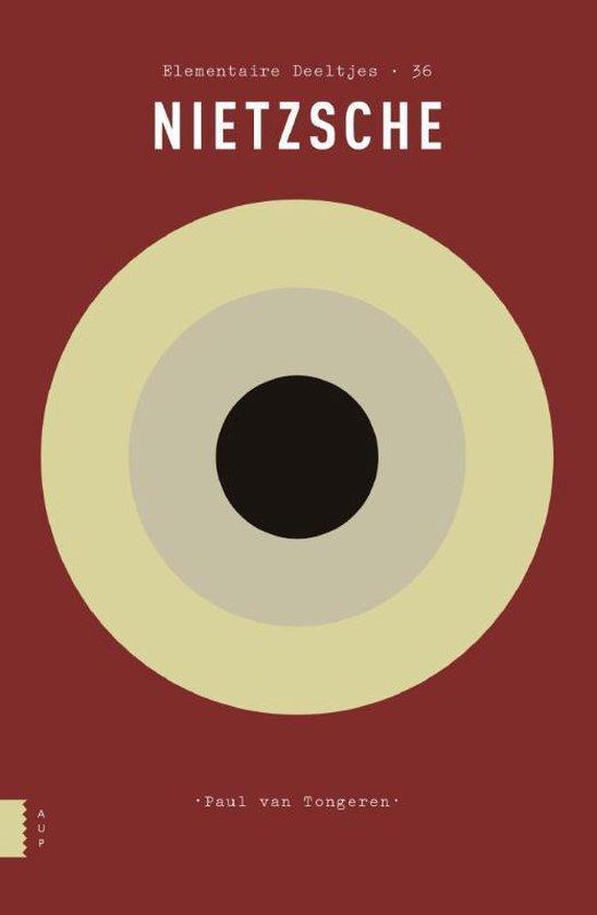 Boek cover Elementaire Deeltjes 36 -   Nietzsche van Paul van Tongeren (Paperback)