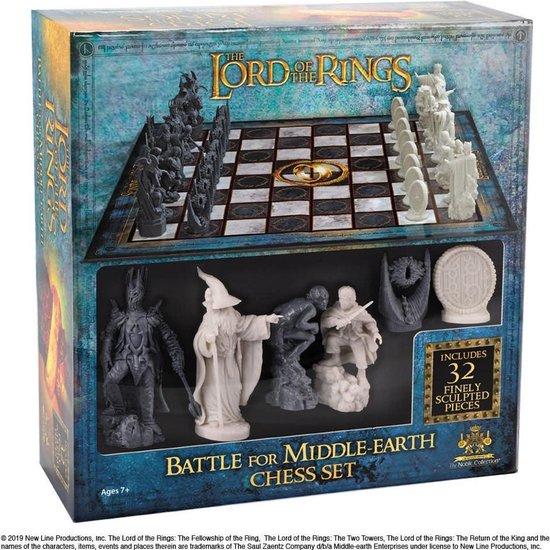 Afbeelding van het spel The Lord of the Rings Chess Set BORDSPELLEN