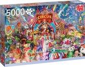 Jumbo Premium Collection Puzzel A Night at the Circus - Legpuzzel - 5000 stukjes