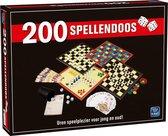 200 Spellendoos - Grote Doos met 200 verschillende Spellen - Inclusief Handleiding