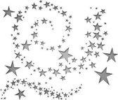 Sizzix Thinlits snijmal werveling sterren set x9